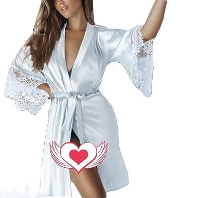 Yusealia Ropa Interior Lenceria Erótica Mujer Talla Grandes, Sexy Dama Ropa de Dormir Vestido de