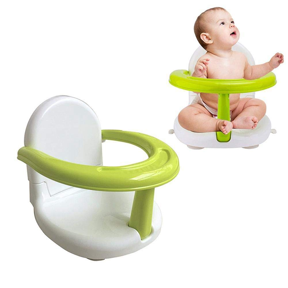Hendont Foldable Baby Bath Seat Baby Bathtub Seat for Sit Up,Multi-Function Anti-SkidSafety Seat,with Backrest Support Infant Shower Safety Seat for Kids & Toddlers & Babies & Newborn by Hendont