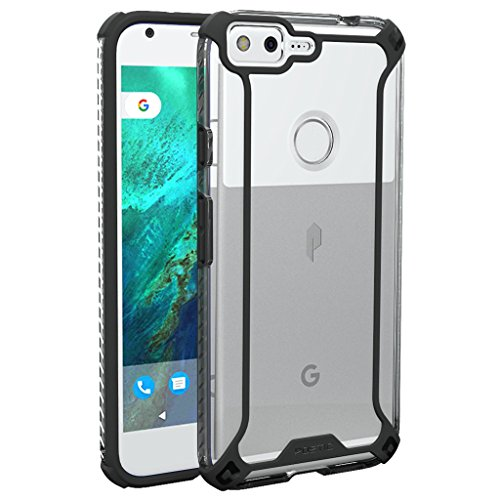 Poetic Affinity Series Slim Fit Dual Material Protective Bumper Case for Google Pixel XL Black