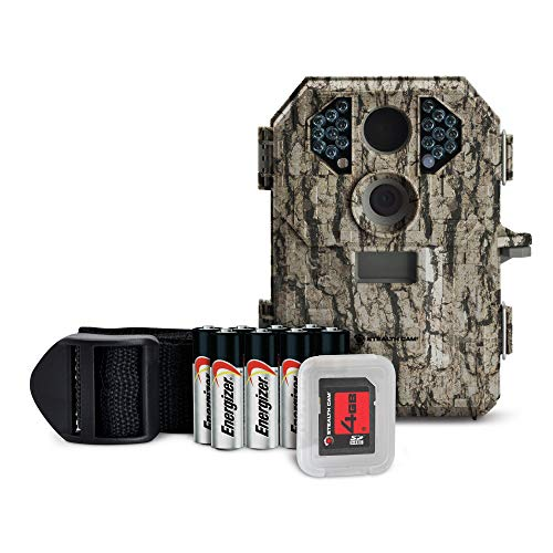 Stealth Cam 7 Megapixel Compact Scouting Camera with Batteries and SD Card, Camouflage