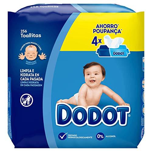 🥇 Dodot Toallitas Para Bebé 4 Paquetes