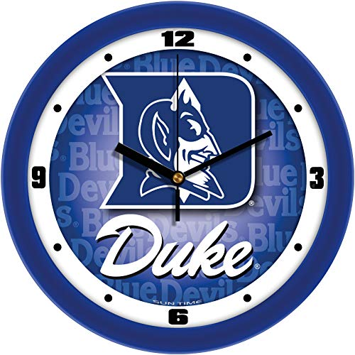 SunTime Duke Blue Devils - Dimension Wall Clock