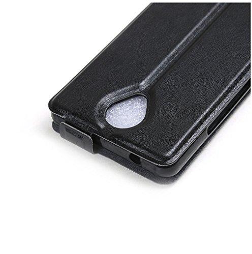 Funda Wiko BLU R1 HD,Manyip Caja del teléfono del cuero,Protector de Pantalla de Slim Case Estilo Billetera con Ranuras para Tarjetas, Soporte Plegable, Cierre Magnético A