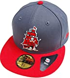 New Era Tampa Bay Buccaneers Ship Logo Graphite Red NFL Cap 59fifty 5950 Fitted Basecap Kappe Men Special Limited Edition