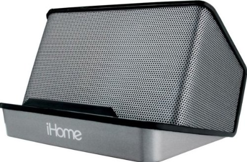 iHome Portable Rechargeable Stereo Speaker System, Black