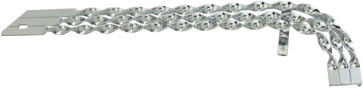 20 Lowrider Triple Flat Twisted Chain Guard Chrome.