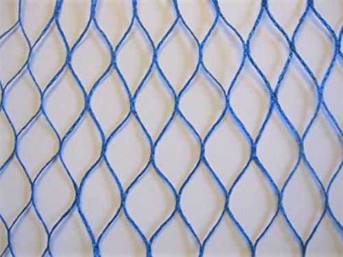 AGROFLOR - Rete di Protezione dagli Uccelli, Larghezza Maglie  25 mm, Utilizzabile per più Anni, Diverse Misure, colore  Blu