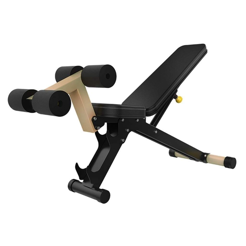 ダンベルベンチ シットアップベンチ多機能ダンベルベンチウェイトベンチ重量挙げと筋力トレーニング120 Kg耐荷重