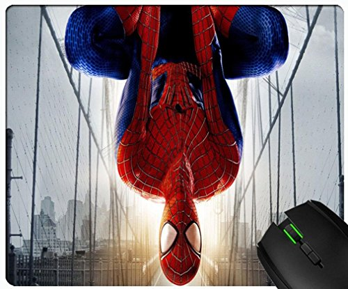 The Amazing Spider Man 2 Game Shooter Character design custom gaming mouse rectangular padded non-slip rubber quality