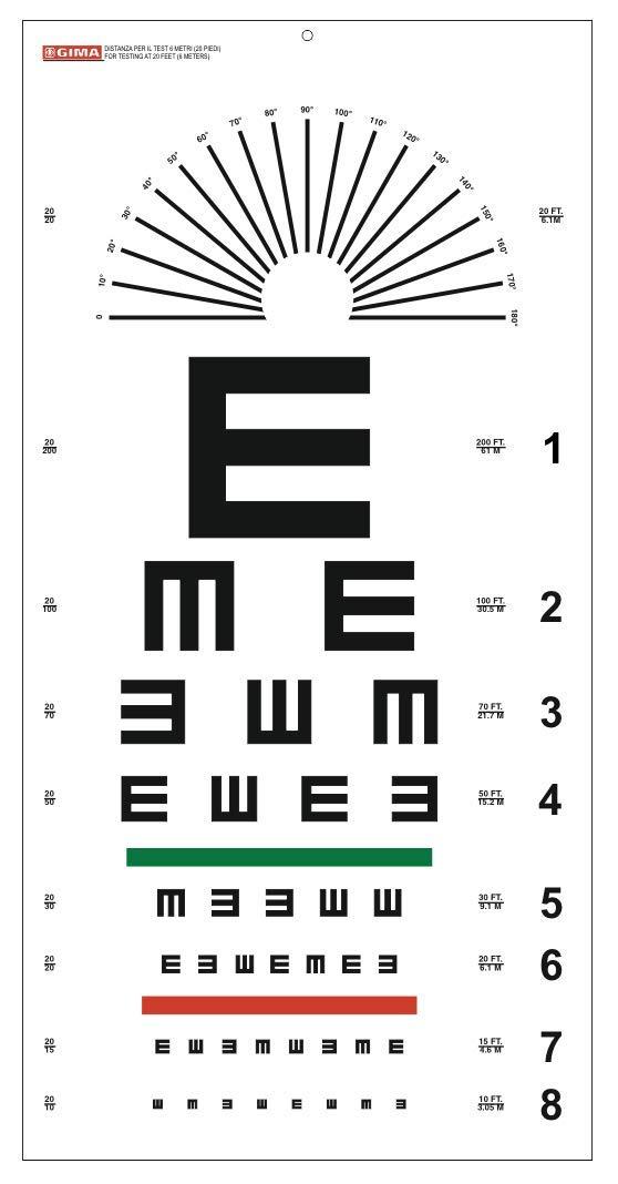 GIMA ref 31307 Mesa optométrica de Tumbling