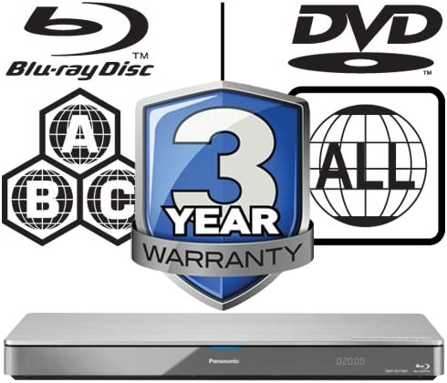 Panasonic dmp-bdt460eb9 Smart 3d 4 K WiFi Icos Multi región todos ...