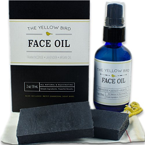 charcoal-face-soap-moisturizing-face-oil-set-natural-skincare-regimen-gentle-facial-soap-anti-aging-