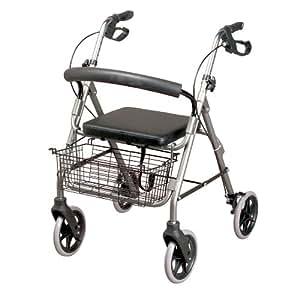 Homecraft - Andador con frenos y 4 ruedas