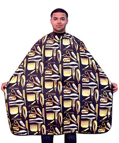 King Midas Haircutting Cape Professional Barber Cape by King Midas