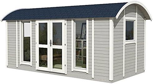 Allwood Mayflower Base | 117 SQF Casa de jardín, Kit de cabina ...