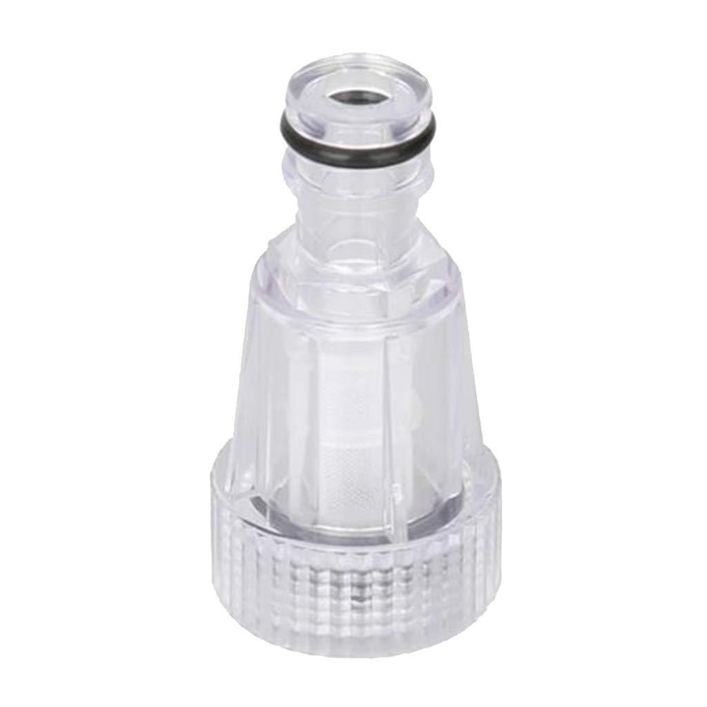 HomeDecTime Filtre /à Eau pour Laveuse /à Pression en Plastique Transparent