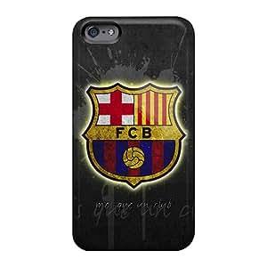 Luoxunmobile333 Apple Iphone 6s Plus Scratch Protection Phone Case Allow Personal Design High Resolution Fc Barcelona Skin [VkH1446jLgX]