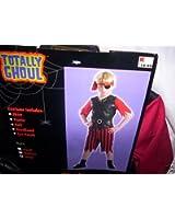Boys Pirate Halloween Costume Size Large