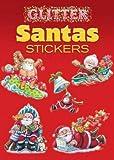 Glitter Santas Stickers (Dover Little Activity Books Stickers)