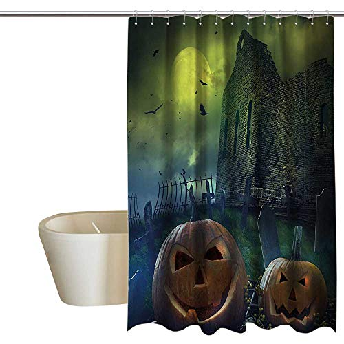 Anshesix Halloween Decorations Home Decor Shower Curtain by