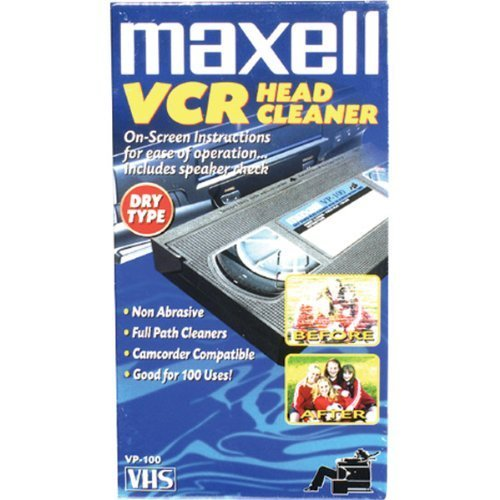 (Maxell - Video Head Cleaner - Dry)