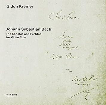 J.S.バッハ:無伴奏ヴァイオリン・ソナタ(SHM-CD)