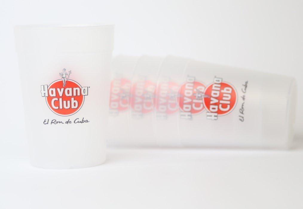 Havana Club 50 x Vasos reutilizables (0,3 l: Amazon.es: Hogar