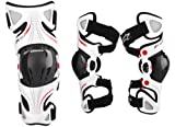 Alpinestars Fluid Pro Knee Brace Set - Sm/Lg , Size: Sm-Lg, Distinct Name: White, Gender: Mens/Unisex, Primary Color: White 6501314-231-SML