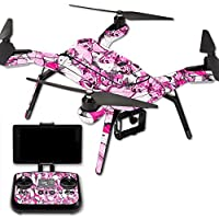 MightySkins Protective Vinyl Skin Decal for 3DR Solo Drone Quadcopter wrap cover sticker skins Butterfly Love