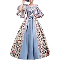 e697cf6c2f0 Ladies Medieval Renaissance Victorian Dresses Masquerade Costumes Queen  Ball Gown
