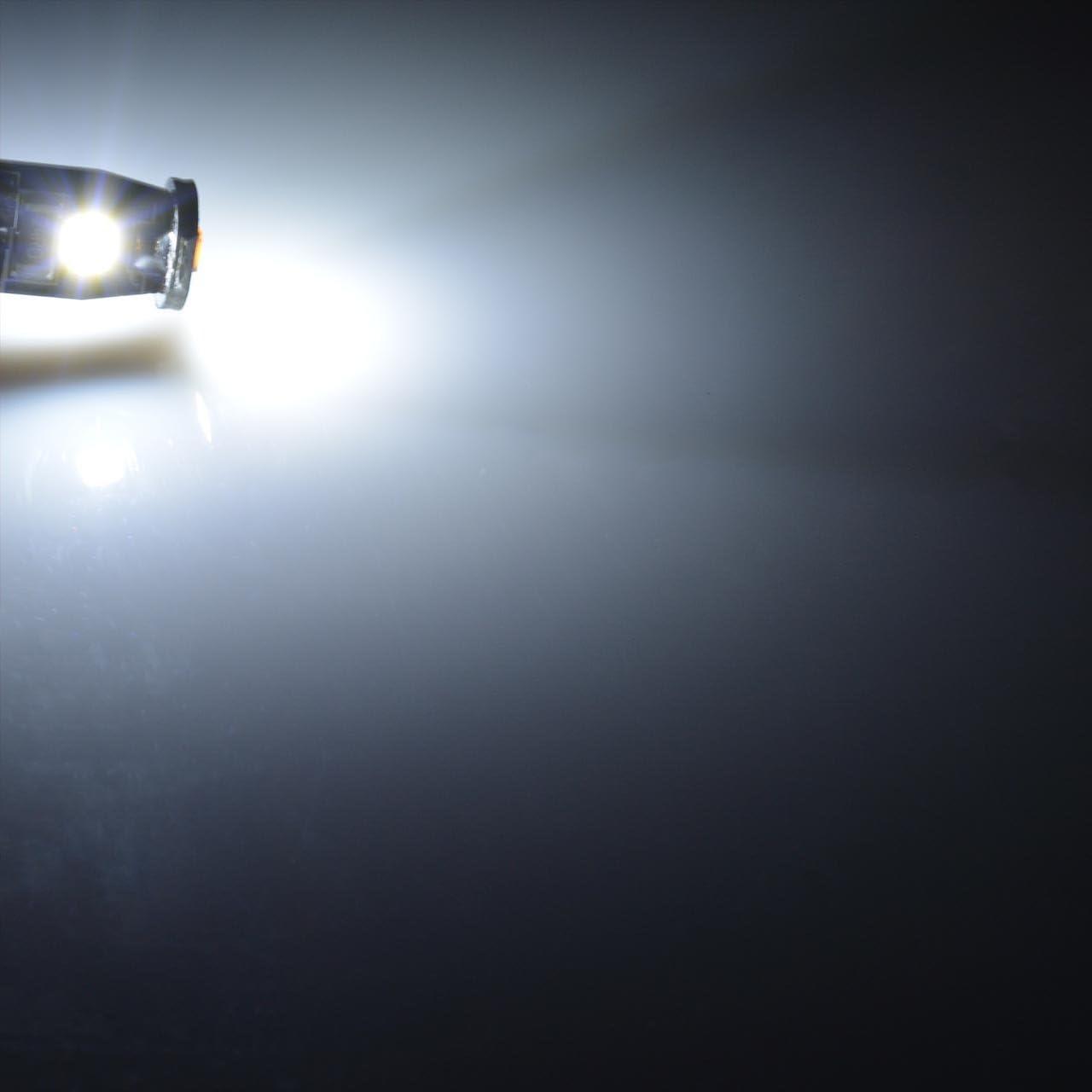 KaTur estremamente luminoso con 194/LED 3030/chipset T10/168/175/192/2825/cuneo interni auto cupola mappa porta targa luci di cortesia 6000/K Xenon bianco 12/V confezione da 10