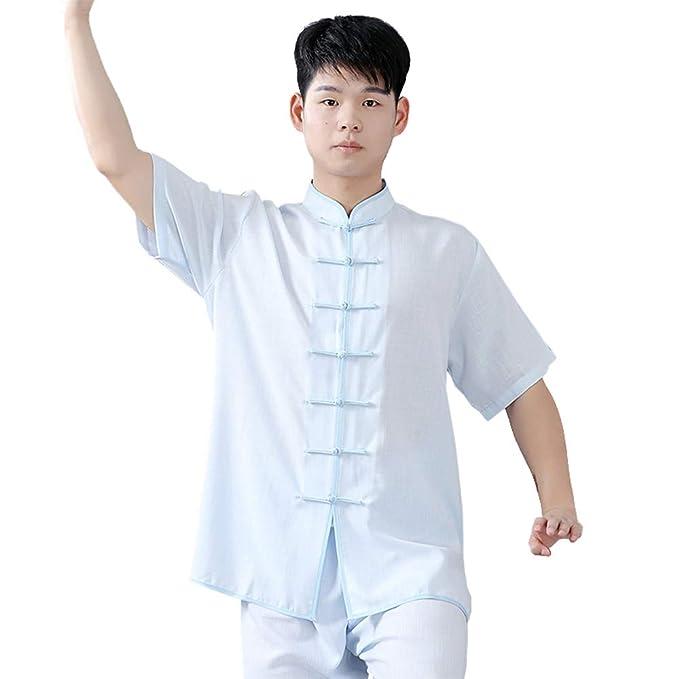 Amazon.com: XFentech Kung Fu Uniform Clothing - Unisex ...