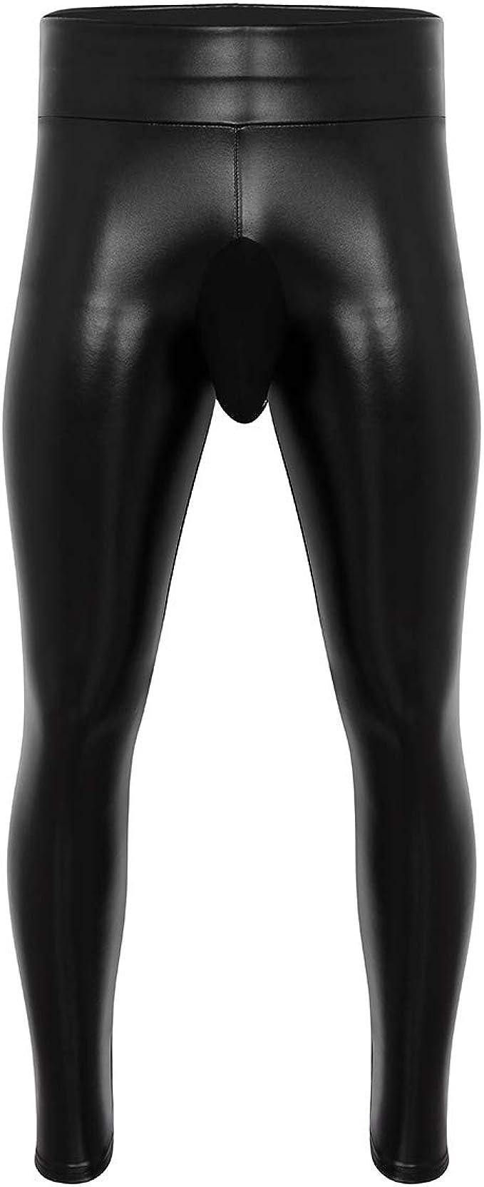 Latex leggings herren