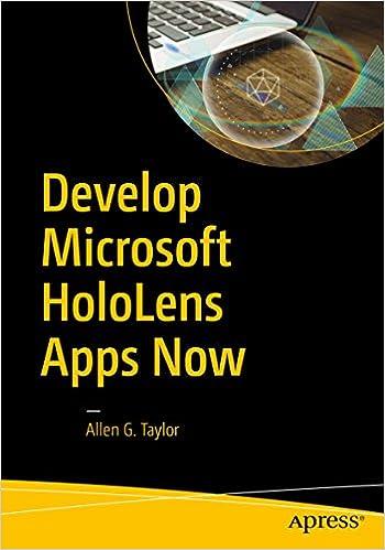 Amazon com: Develop Microsoft HoloLens Apps Now eBook: Allen