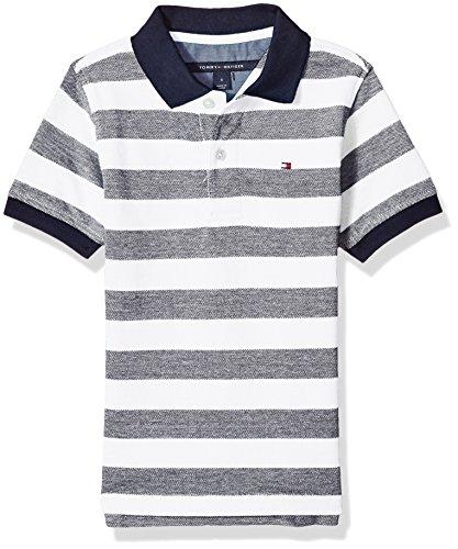 66c6a95656d6 Galleon - Tommy Hilfiger Little Boys  Short Sleeve Striped Polo Shirt