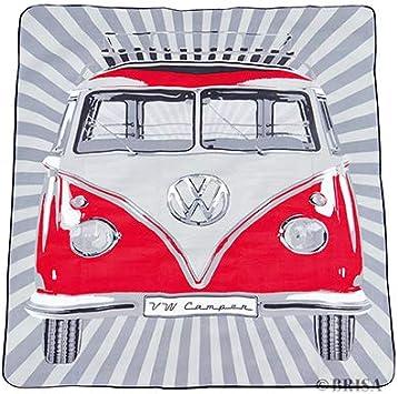 Brisa VW Collection Blanco//Azul Volkswagen Furgoneta Hippie Bus T1 Van/Bolsa de refrigeraci/ón 25 L