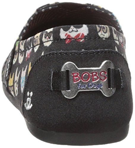 Kitty Smarts Skechers BOBS Women's Shoes Plush Black t8wIqwA