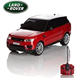 Range Rover Sport, Remote/Radio Controlled Model Car. Scale 1:24 Blue/Red/White (Red)