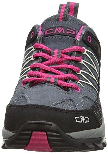 Grau Chaussures Basses 103q De Low Rigel Cmp Femme ice grey Randonnée fuxia XZq0EnW