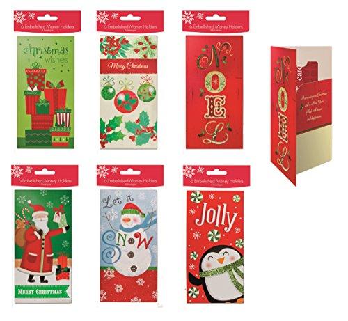 Assorted Embellished Christmas Penuins Ornaments