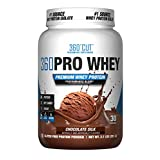 360CUT PRO Whey - Pure Whey Protein Isolate Protein Powder to Boost Metabolism, Build Lean Muscle Mass, Enhance Recovery - Gluten Free, Easy to Digest Whey Protein Powder - Chocolate Silk 30 Servings