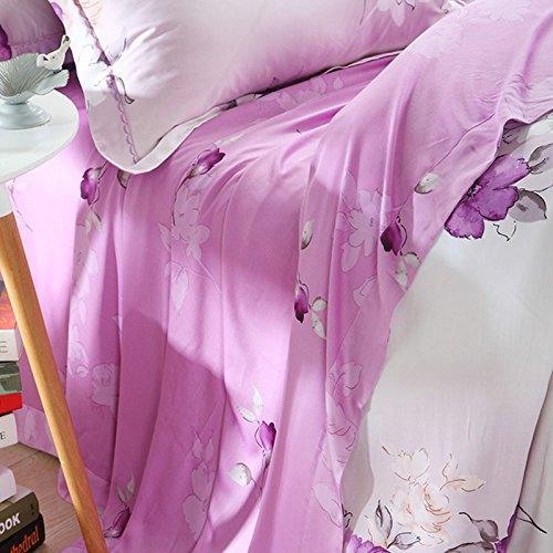 DHWM-The bare bedroom duplex Tencel 4 piece set, bed linens, consider the wedding bedding 4 piece set a ,2.0m