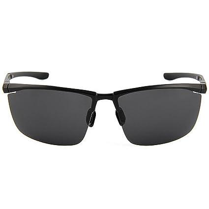 Retro Día y noche Gafas de sol deportivas para hombres de doble uso Gafas de sol