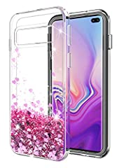 SunStory Fashion Design with Moving Shiny Quicksand Glitter, Safety Design with Double Protection with PC layer and TPU Bumper, Safe material to protect your phone: 1.Features:  .Safety and Fashion design and Safety Material. .Glitter Move Ar...