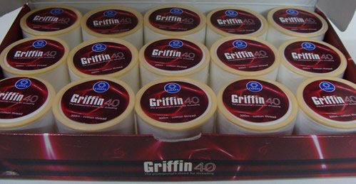 Griffin Threading Thread for Eyebrows, Face, Body, Hair Remover(case of 15 Rolls)