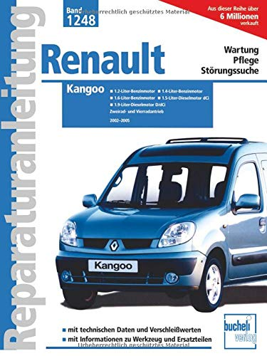 Renault Kangoo: 2002 bis 2005 (Reparaturanleitungen)