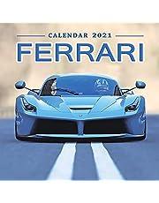 Ferrari Calendar 2021: January 2021 through February 2022, Automobile Calendar, Supercars Calendar