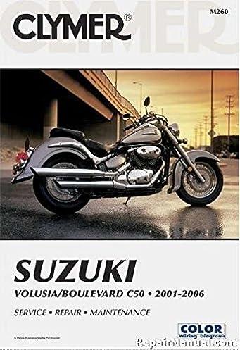 m260 3 2001 2011 suzuki volusia boulevard c50 clymer motorcycle rh amazon com Motorcycle Wiring Harness Diagram Suzuki Quadrunner Wiring-Diagram