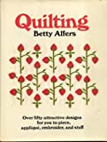 Quilting, Betty Alfers, 0672522357