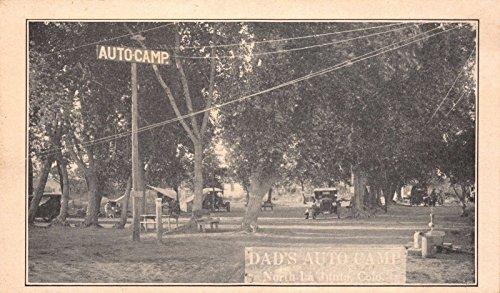 Two Postcards Dad's Auto Camp in La Junta, (Dad Postcards)